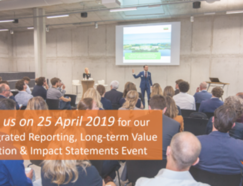 25 April 2019: Integrated Reporting, Long-term Value Creation & Impact Statements Meeting