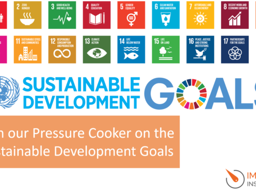 Join our Pressure Cooker on the Sustainable Development Goals
