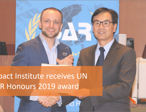 Impact Institute receives prestigious UN Award