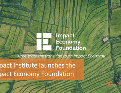 Impact Institute launches the Impact Economy Foundation