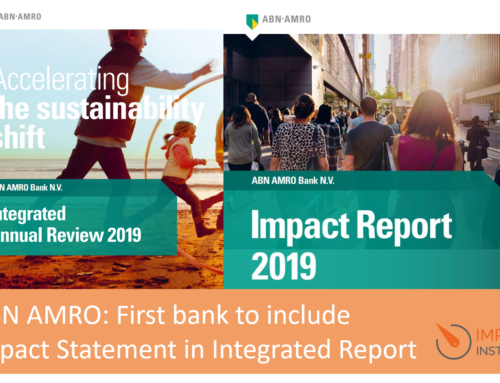 ABN AMRO first bank to include Impact Statement in Integrated Report