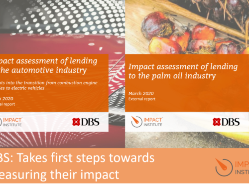 DBS takes first steps towards measuring their impact