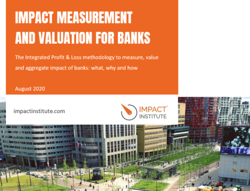 Impact Institute publishes a report on how impact can reveal the hidden value of banks