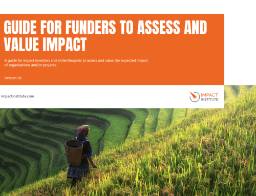 Impact Institute presents a guide for investors and philanthropists to measure their impact