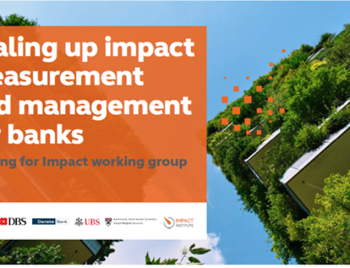 Impact Institute joins leading financial consortium to propose new social, environmental impact measurement and reporting rules for banks